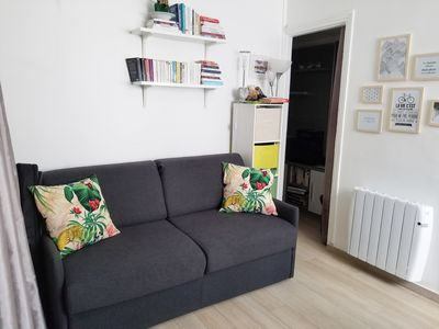 Photo for Beautiful bright and central studio