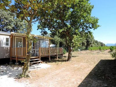 Photo for Camping Le Garrigon **** - Premium Texas Mobile Home 4 Rooms 6 People