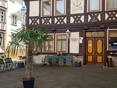 Photo for Triple room (1 double room, 2 single beds), incl. Breakfast - Hotel Im Anker