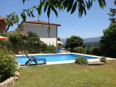Photo for Pure relaxation! Bright holiday home in a quiet location with pool