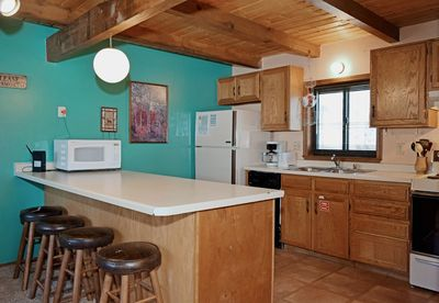 Aspen West 4 Deluxe Kitchen