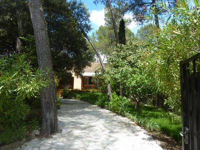 Photo for Beautiful villa near Montpellier and the Mediterranean in residential village