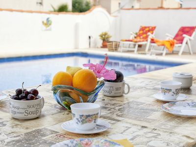 Photo for House with private pool in Vinaròs and Wi-Fi