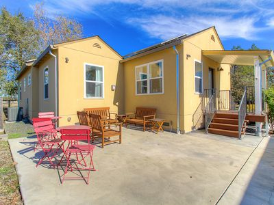 Photo for Cheerful home w/ private patio & spacious yard - perfect for wine enthusiasts!
