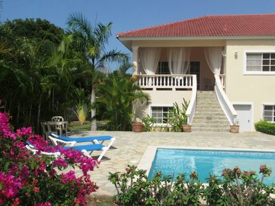 Photo for 4-BD guest-friendly villa in central Sosua with private pool, low down payment