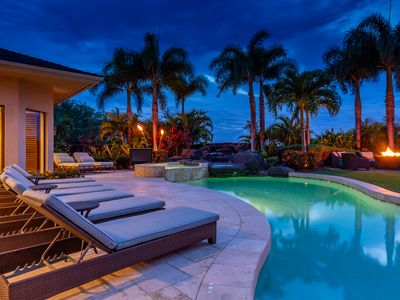 Photo for Hualalaii~5 bd~Anea Estate 101~perfectly situated for Best Views