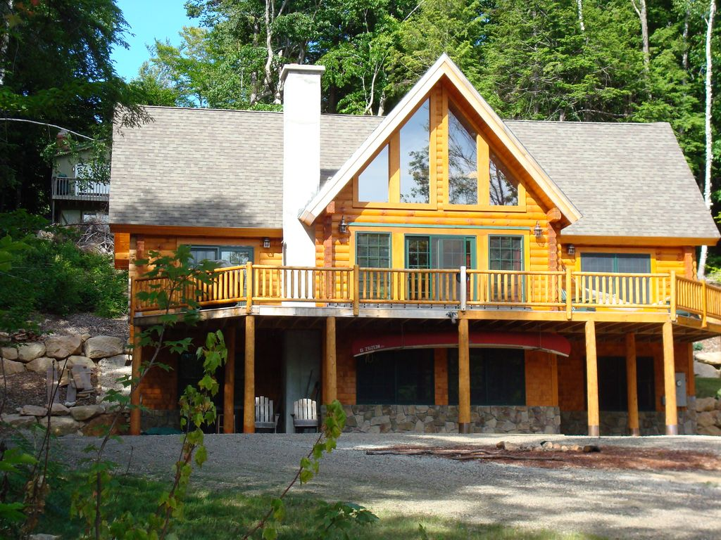 ski mile bear access cottage nh winter new bretton rental rent in ac cabins for river the log woods luxurious view area with cabin of from