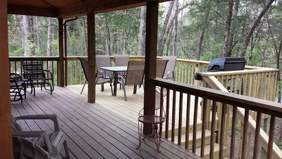 Back deck areas