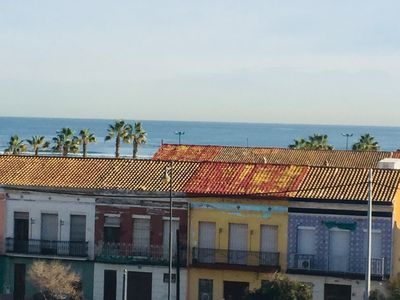 Photo for Apartment next to the beach of Valencia, in the neighborhood of Cabañal.