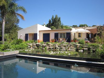 Photo for Spacious & stylishly 7 bedroom Villa with private saltwater pool near Monchique