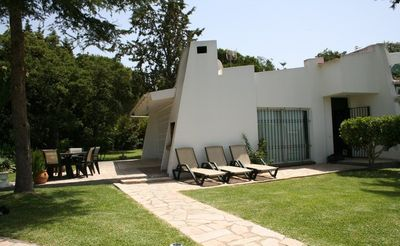 Photo for Beautiful, secluded villa with large garden near Marbella, golf, marina