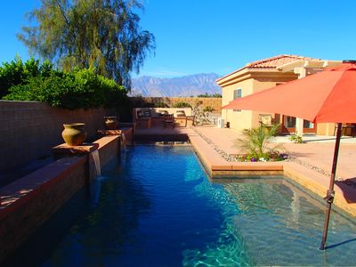Photo for Private Salt Water Pool detached Casita with Pool Cabana, Mountain View!