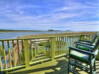 The Shanty: Gorgeous Home on 'the Point' of Cherry Grove at Hog Inlet