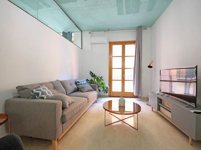 Photo for DELTA 1B. Apartment designed with taste located in the center of Palma.