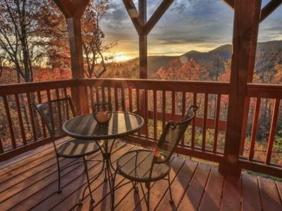 Photo for Dream A Little and unwind while taking in the breathtaking views at this custom furnished mountain l