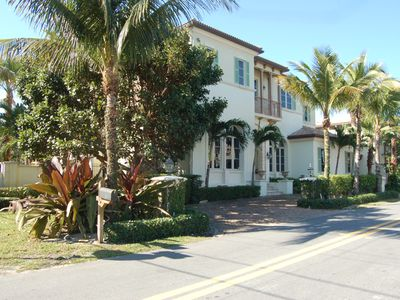 Photo for Delray's Luxury Ocean View Estate with Private Beach Access