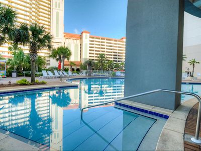 Photo for SNOWBIRD RATES POSTED - Laketown Wharf 1803! Beautiful 1 BD 2 Bath With Amazing Ocean View
