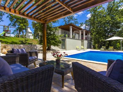 Photo for Villa Malfatina holiday house with pool for 8 persons