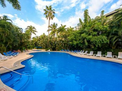Photo for Marbella - Lush & Tranquil - remodeled - 2 pools Puerto Vallarta,  Sleeps 4+