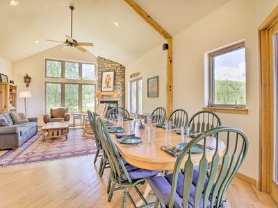 Photo for Mountain Home with Free Shuttle at Doorstep Amazing Views Ideal 2 Family Lodging
