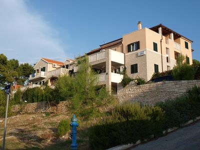 Photo for One bedroom apartment Santic A2 with shared garden