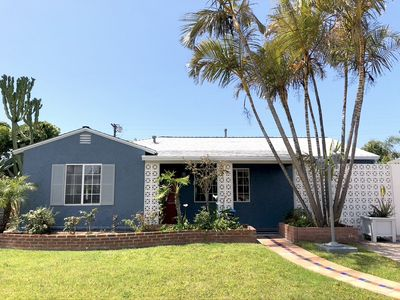 Photo for Charming Single Family House Large Backyard, 1/2 Mile to the Beach