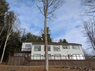 Photo for Modern Open Floor Plan Minutes from Butternut Ski Resort with Lake Views