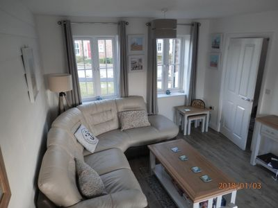 Photo for Beautiful two bedroom cottage, light and modern decor -  Pet and smoke free.
