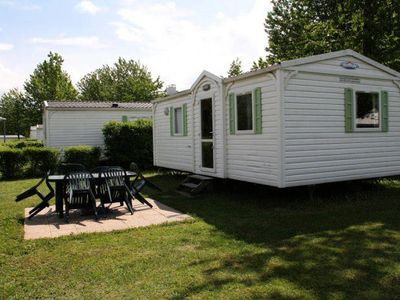 Photo for Camping Lake Carouge *** - Mobil Home 3 Rooms 4/6 People