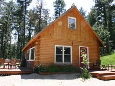 Photo for Log Cabin by Nemo Close To Sturgis Rally and Deadwood. Motorcycle ATV Hunting