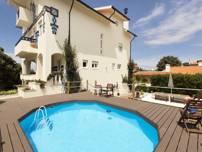 Photo for LV Premier Granja GR1 - Seafront Villa, Pool, Fireplace and  Central Heating