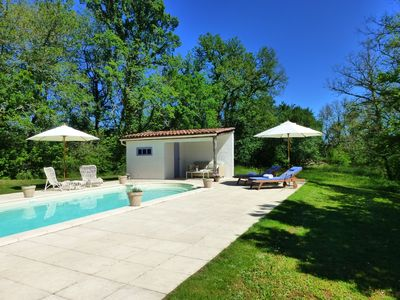 Photo for Luxurious and Tranquil B&B Accommodation with Pool. La Vigne Vierge. Room 2