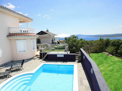 Photo for By the sea with a pool and jacuzzi – Villa Puskas 1