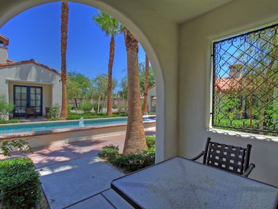 Photo for Downstairs Studio Opening to a Private Fountain Close to the Fitness Center!