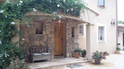"""Photo for Charming villa with pool and Panorama on the """"Massif des Maures"""""""