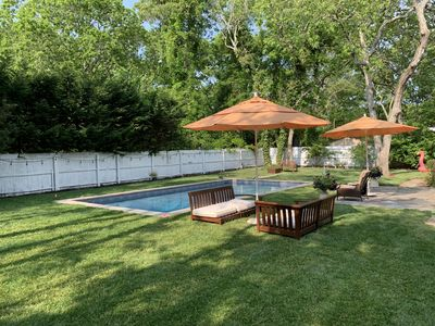 Photo for Turn Key Hampton Bays House with Heated, Salt Water Pool; Newly Renovated
