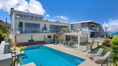 Photo for ELANORA - Home by the Sea - Fireplace, Pool, Ocean Views,100m Beach
