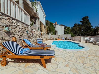 Photo for Studio Apartment w. heated Pool; between Split&Makarska; *Availble in July*