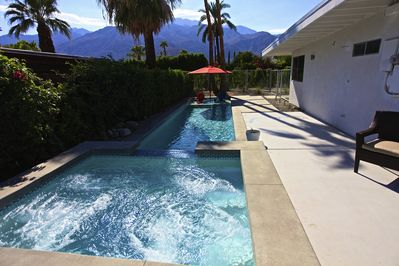 Wonderful Views of the San Jacinto Mountain Range from the Pool and Spa