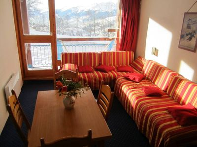 Photo for Arcs 1800 Nice studio near the slopes to share with family or friends