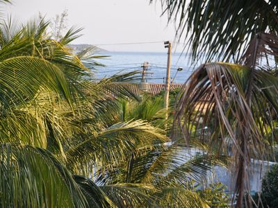 Photo for Flat in Gated community, pool and near the center of Geribá Beach