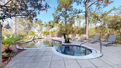 This lagoon styled pool is what dreams are made of!