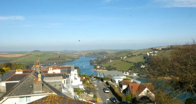 Photo for Delightful 3 bedroom Salcombe apartment with breathtaking views and free parking