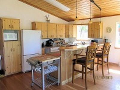 Photo for Large 4 bedroom home on the Kasilof River