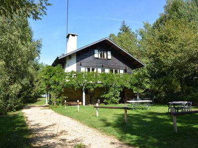 Photo for Luxury Pet-friendly Chalet in Bièvre near Forest