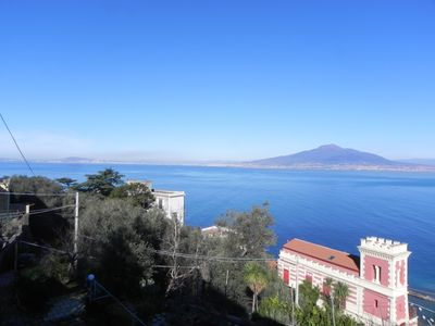 Photo for Villa, more than 20 beds, on the road to Sorrento. All sevices.