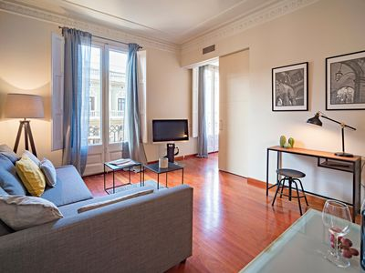 Photo for one bedroom apartment next to Paseo de Gracia
