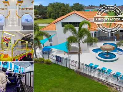 Photo for Rare Extended Pool Deck & Oversized Spa | Arcade Room | Amazing Kids Bedrooms | 4 x King