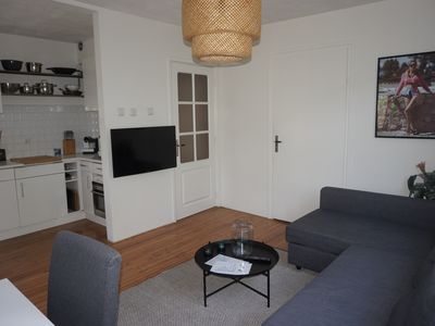 Photo for Bright apartment for 4 person, free parking, free Wi-Fi, public tranportat close