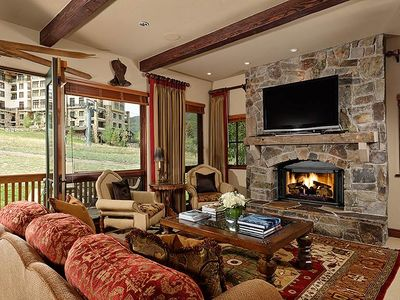 Photo for Timbers Club K1- 4 Bedroom Ski in/ski out onto Assay Hill across from the Viceroy